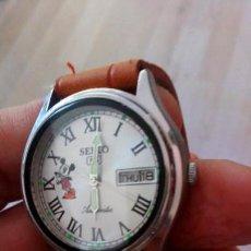 Relojes - Seiko: RELOJ SEIKO DISNEY MICKEY MOUSE AUTOMATICO. NUEVO.. Lote 145571554