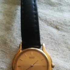 Relojes - Seiko: ANTIGUO RELOJ DE SEÑORA SEIKO, 10 MICRAS DE ORO. Lote 147169694