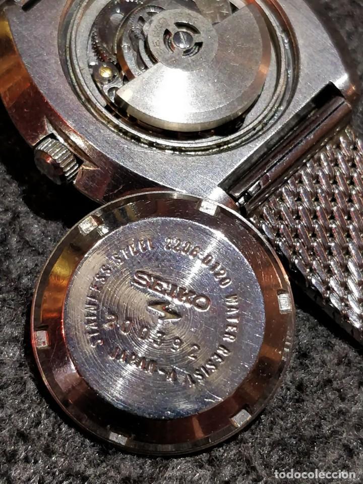 Relojes - Seiko: Reloj Seiko Diamatic HI-Beat 27 rubies con calendario.Funcionando - Foto 3 - 149070610