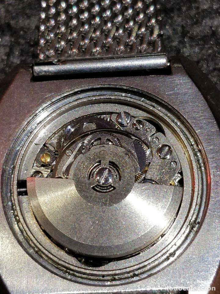 Relojes - Seiko: Reloj Seiko Diamatic HI-Beat 27 rubies con calendario.Funcionando - Foto 4 - 149070610