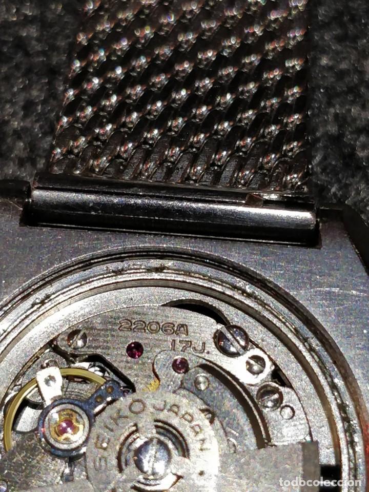 Relojes - Seiko: Reloj Seiko Diamatic HI-Beat 27 rubies con calendario.Funcionando - Foto 5 - 149070610