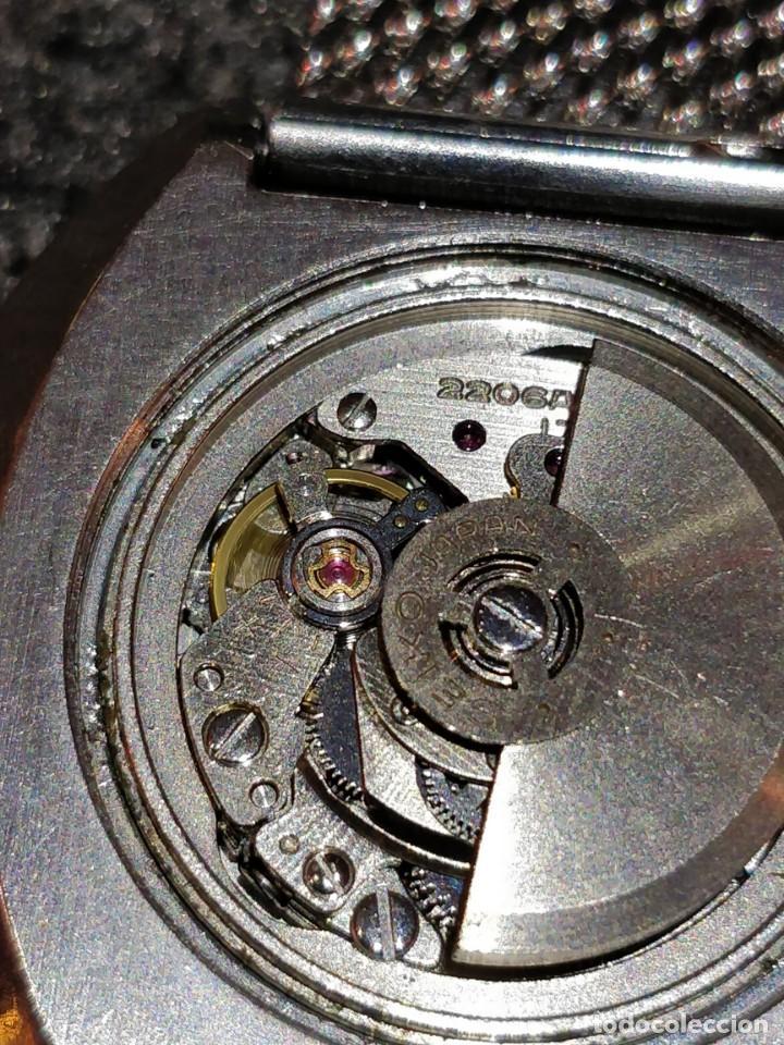Relojes - Seiko: Reloj Seiko Diamatic HI-Beat 27 rubies con calendario.Funcionando - Foto 6 - 149070610
