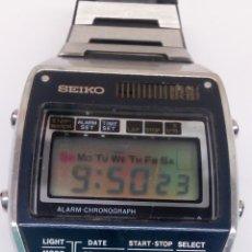 Relojes - Seiko: RELOJ SEIKO CHRONOGRAPH ANTIGUO QUARTZ PARA COLECCIONISTAS FUNCIONA TODO. Lote 150531740