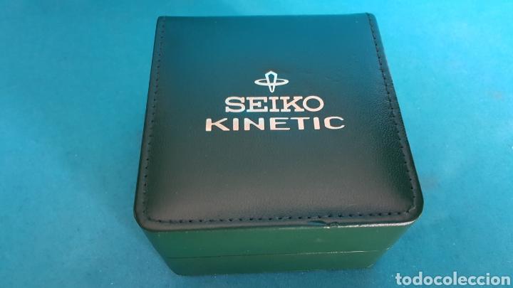 ESTUCHE Y DOCUMENTACION DE RELOJ SEIKO KINETIC 1999 (Relojes - Relojes Actuales - Seiko)