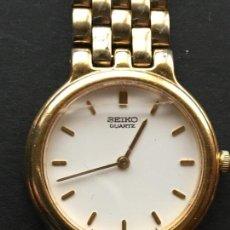 Relojes - Seiko: RELOJ DE PULSERA DE MUJER, DE CUARZO DE LA MARCA SEIKO, CADENA DE ACERO. Lote 152172454