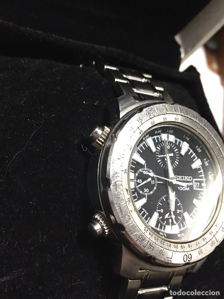 Reloj seiko - scale bezel diver alarma y chrono - Sold at Auction