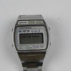 Relojes - Seiko: IMPRESIONANTE RELOJ SEIKO A158-5050, ESTA EN MUY BUENAS CONDICIONES, VER FOTOS, CORREA DE AJUSTE RAP. Lote 156035974