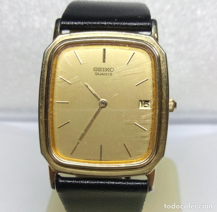 RELOJ SEIKO DE CUARZO - CAJA 27 MM - FUNCIONA CORRECTAMENTE (Relojes - Relojes Actuales - Seiko)