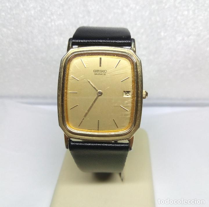 Relojes - Seiko: RELOJ SEIKO DE CUARZO - CAJA 27 mm - FUNCIONA CORRECTAMENTE - Foto 2 - 158524538