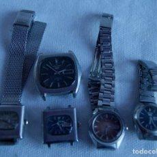 Relojes - Seiko: LOTE DE 5 RELOJES SEIKO AUTOMATICOS F10. Lote 159103362