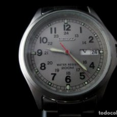 Relojes - Seiko: SEIKO ESTILO MILITAR WR 200M VINTAGE / VINTAGE SEIKO 200M MILITARY STYLE WATCH. Lote 159852230