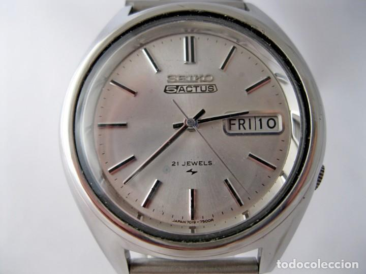 SEIKO 5 ACTUS CABALLERO VINTAGE REVISADO / VINTAGE GENTS SEIKO 5 ACTUS SERVICED (Relojes - Relojes Actuales - Seiko)