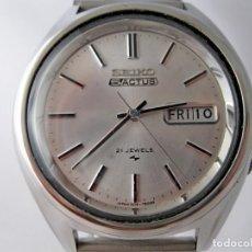 Relojes - Seiko: SEIKO 5 ACTUS CABALLERO VINTAGE REVISADO / VINTAGE GENTS SEIKO 5 ACTUS SERVICED. Lote 159856558