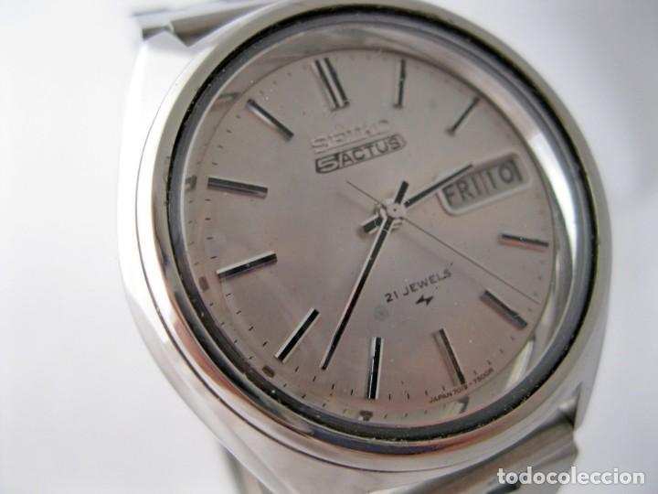 Relojes - Seiko: SEIKO 5 ACTUS CABALLERO VINTAGE REVISADO / VINTAGE GENTS SEIKO 5 ACTUS SERVICED - Foto 2 - 159856558