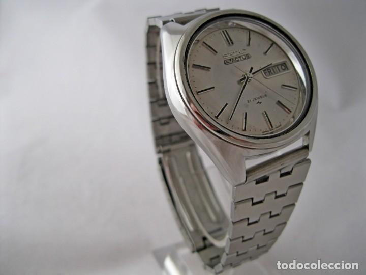 Relojes - Seiko: SEIKO 5 ACTUS CABALLERO VINTAGE REVISADO / VINTAGE GENTS SEIKO 5 ACTUS SERVICED - Foto 3 - 159856558