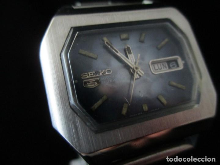 Relojes - Seiko: RARO SEIKO 5 AUTO .OCTOGONAL CAB. VINTAGE / RARE OCTAGONAL AUTO SEIKO 5 WATCH - Foto 2 - 159857694