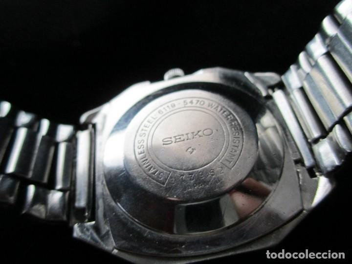 Relojes - Seiko: RARO SEIKO 5 AUTO .OCTOGONAL CAB. VINTAGE / RARE OCTAGONAL AUTO SEIKO 5 WATCH - Foto 5 - 159857694