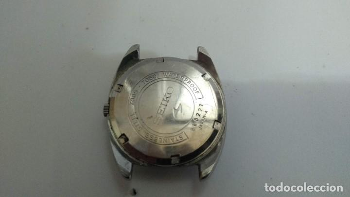 Relojes - Seiko: RELOJ AUTOMATICO SEIKO CABALLERO 17 JOYAS - Foto 2 - 160386214