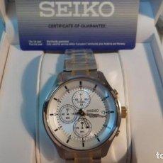 Relojes - Seiko: SEIKO SPORTS CHRONOGRAPH. Lote 162475450