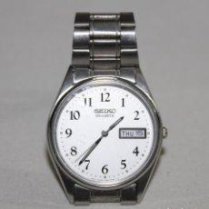 Relojes - Seiko: RELOJ SEIKO QUARTZ 7N43-7A50 JAPAN CON CALENDARIO DIA Y FECHA AÑOS 80. Lote 163063870