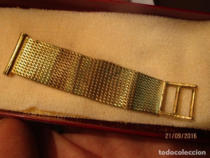 Relojes - Seiko: SEIKO TIME CORP JAPAN T RELOJ chapado en oro ANTIGUO CADENA DORADA SIN FUNCION - Foto 14 - 127580811