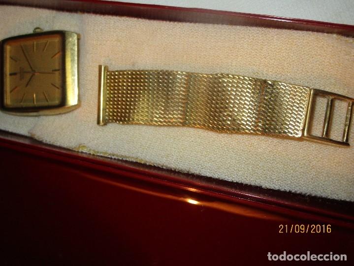 Relojes - Seiko: SEIKO TIME CORP JAPAN T RELOJ chapado en oro ANTIGUO CADENA DORADA SIN FUNCION - Foto 16 - 127580811