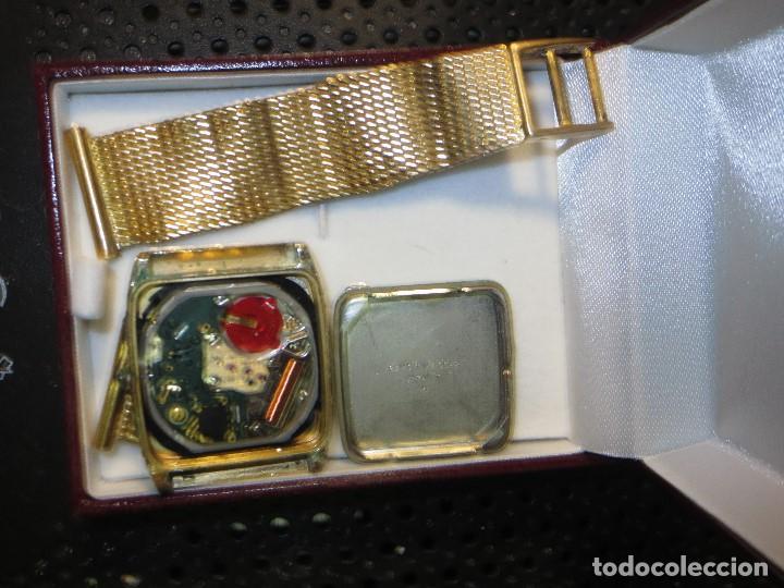 Relojes - Seiko: SEIKO TIME CORP JAPAN T RELOJ chapado en oro ANTIGUO CADENA DORADA SIN FUNCION - Foto 3 - 127580811