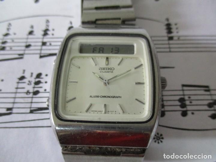RELOJ SEIKO QUARTZ ALARMA (Relojes - Relojes Actuales - Seiko)