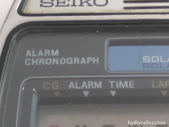 Relojes - Seiko: ANTIGUO RELOJ SEIKO DIGITAL - Foto 3 - 165970434
