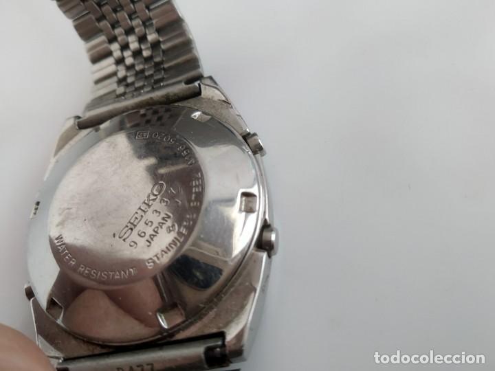 Relojes - Seiko: ANTIGUO RELOJ SEIKO DIGITAL - Foto 6 - 165970434