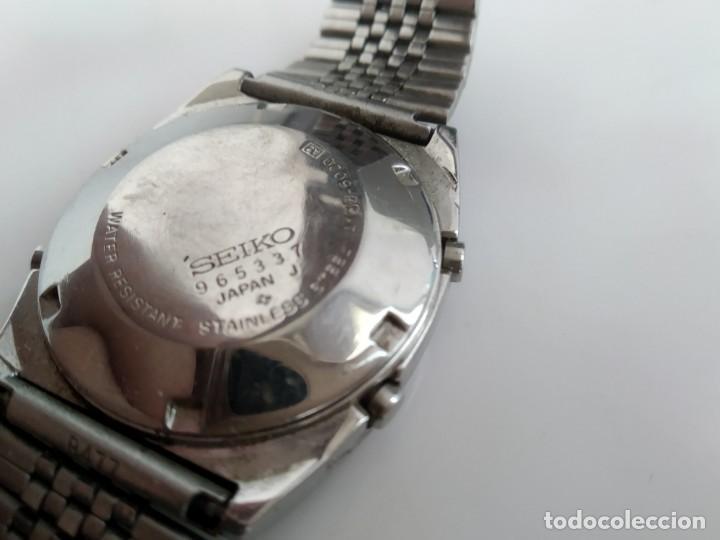 Relojes - Seiko: ANTIGUO RELOJ SEIKO DIGITAL - Foto 7 - 165970434