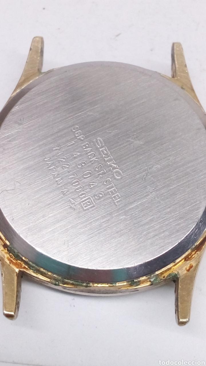 Relojes - Seiko: Reloj Seiko Quartz para piezas - Foto 3 - 167158020