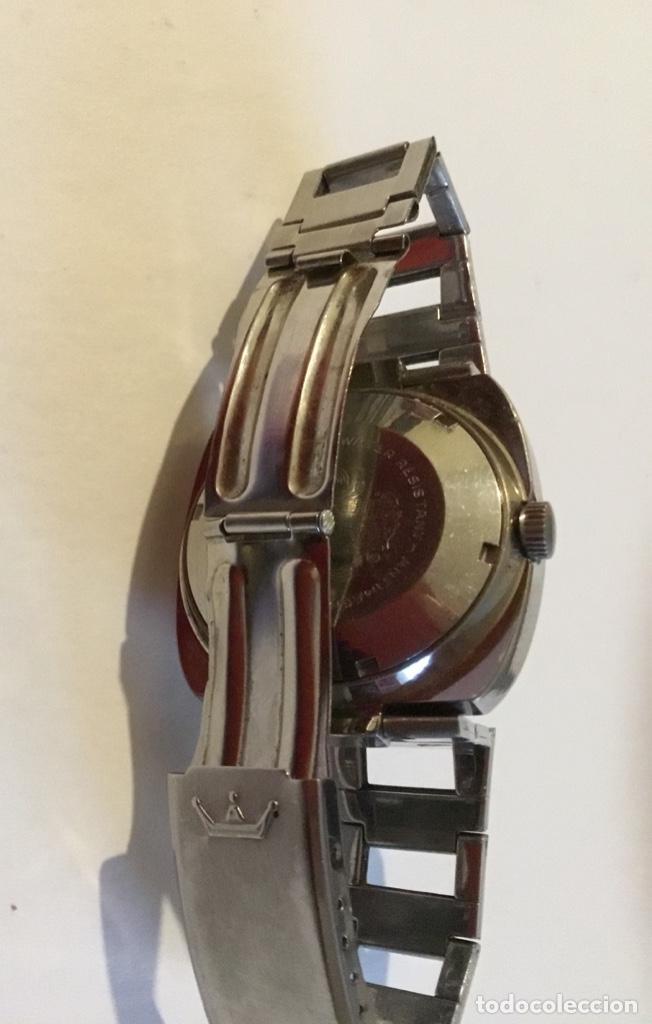 Relojes - Seiko: Antiguo reloj de cuerda Seiko 23 datomatic muy escaso - Foto 6 - 168526736