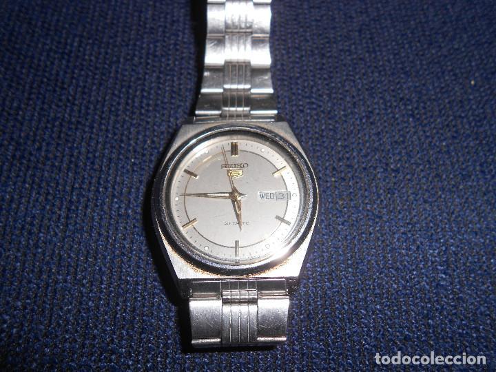 Descripcion Five Reloj Leer Automatico Seiko WH29IED