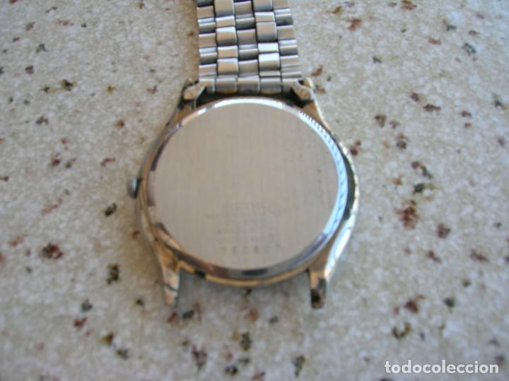 Relojes - Seiko: RELOJ DE CUARZO MARCA SEIKO N,760803 DE SERIE PARA RECAMBIOS EL RELOJ FUNCIONA - Foto 2 - 169744688