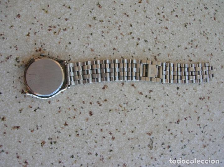 Relojes - Seiko: RELOJ DE CUARZO MARCA SEIKO N,760803 DE SERIE PARA RECAMBIOS EL RELOJ FUNCIONA - Foto 5 - 169744688