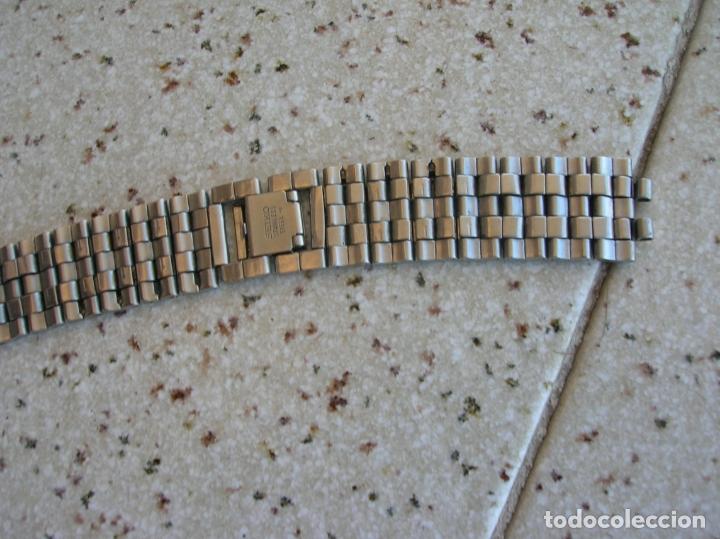 Relojes - Seiko: RELOJ DE CUARZO MARCA SEIKO N,760803 DE SERIE PARA RECAMBIOS EL RELOJ FUNCIONA - Foto 6 - 169744688