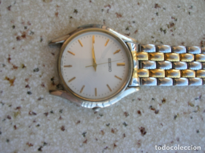 RELOJ DE CUARZO MARCA SEIKO N,760803 DE SERIE PARA RECAMBIOS EL RELOJ FUNCIONA (Relojes - Relojes Actuales - Seiko)
