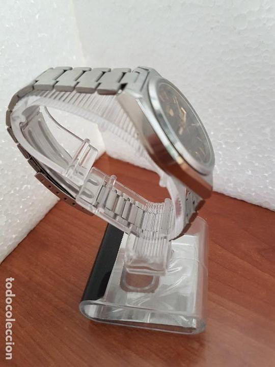 Relojes - Seiko: Reloj de caballero (Vintage) Seiko automático 21 rubis con doble calendario a las tres calibre 7009A - Foto 8 - 169818914
