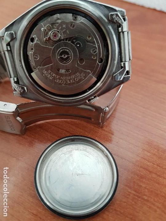 Relojes - Seiko: Reloj de caballero (Vintage) Seiko automático 21 rubis con doble calendario a las tres calibre 7009A - Foto 14 - 169818914