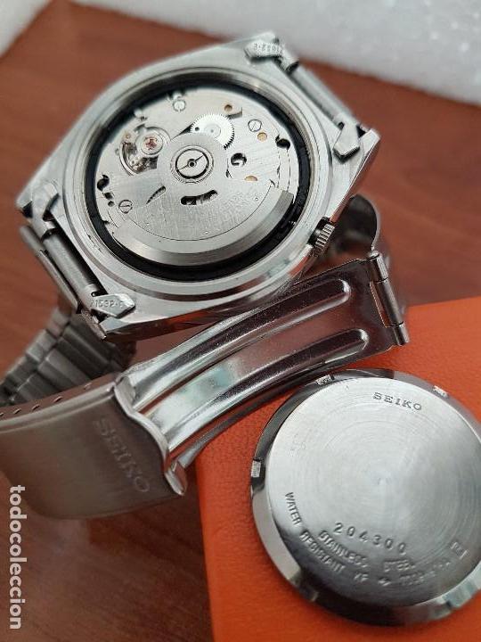 Relojes - Seiko: Reloj de caballero (Vintage) Seiko automático 21 rubis con doble calendario a las tres calibre 7009A - Foto 16 - 169818914