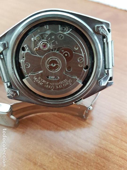 Relojes - Seiko: Reloj de caballero (Vintage) Seiko automático 21 rubis con doble calendario a las tres calibre 7009A - Foto 20 - 169818914