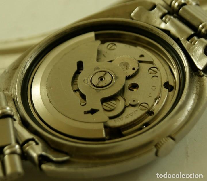 Relojes - Seiko: SEIKO AUTOMATIC CORREA ORIGINAL TODO FIRMADO - Foto 3 - 169900536