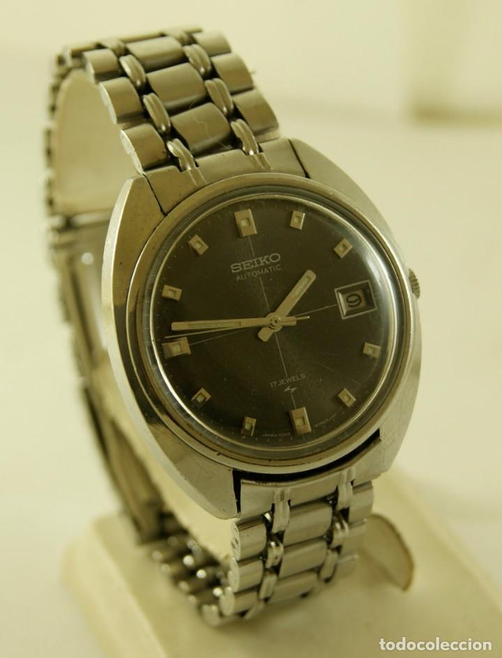 Relojes - Seiko: SEIKO AUTOMATIC CORREA ORIGINAL TODO FIRMADO - Foto 4 - 169900536
