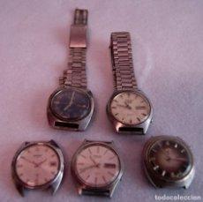 Relojes - Seiko: LOTE DE 4 SEIKO AUTOMATICO Y 1 ORIENT AUTOMATICO REVISAR F60. Lote 170333624
