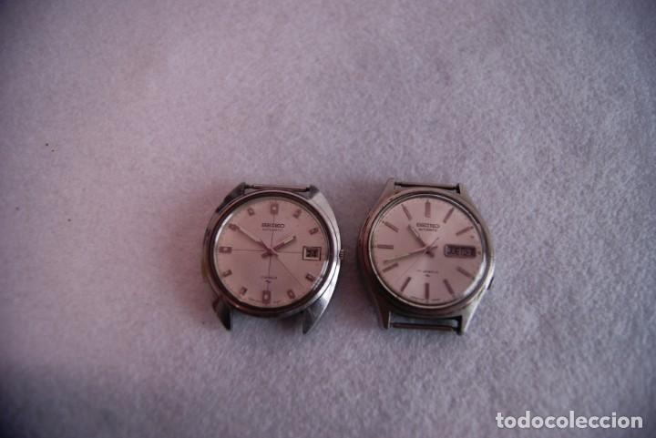 Relojes - Seiko: LOTE DE 4 SEIKO AUTOMATICO Y 1 ORIENT AUTOMATICO REVISAR F60 - Foto 3 - 170333624