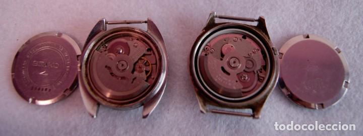 Relojes - Seiko: LOTE DE 4 SEIKO AUTOMATICO Y 1 ORIENT AUTOMATICO REVISAR F60 - Foto 4 - 170333624