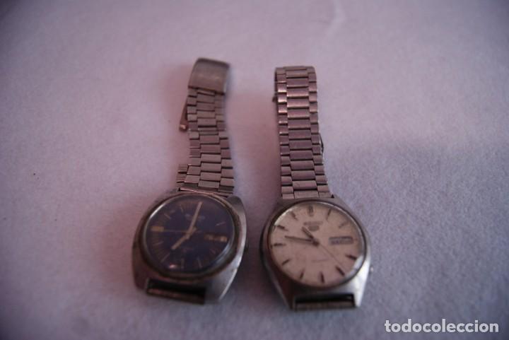 Relojes - Seiko: LOTE DE 4 SEIKO AUTOMATICO Y 1 ORIENT AUTOMATICO REVISAR F60 - Foto 5 - 170333624