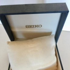 Relojes - Seiko: SEIKO CAJA ESTUCHE ORIGINAL PARA RELOJ VINTAGE 1980. Lote 171137842