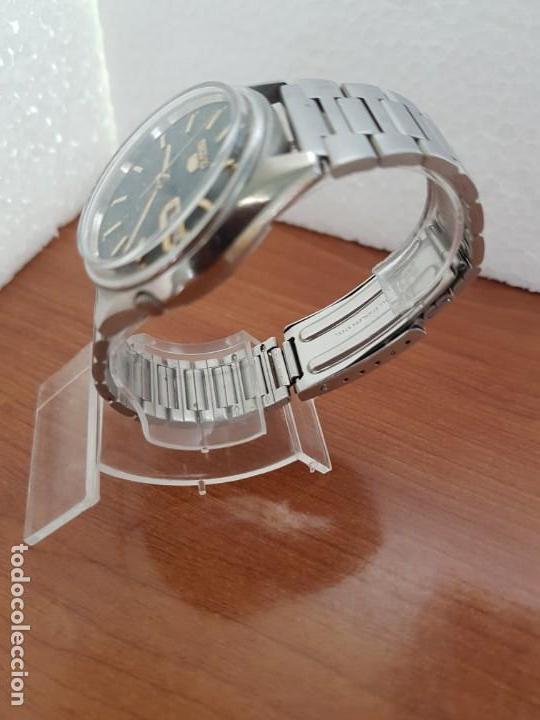 Relojes - Seiko: Reloj de caballero (Vintage) Seiko automático 17 rubis con doble calendario a las tres calibre 7009A - Foto 5 - 171141762